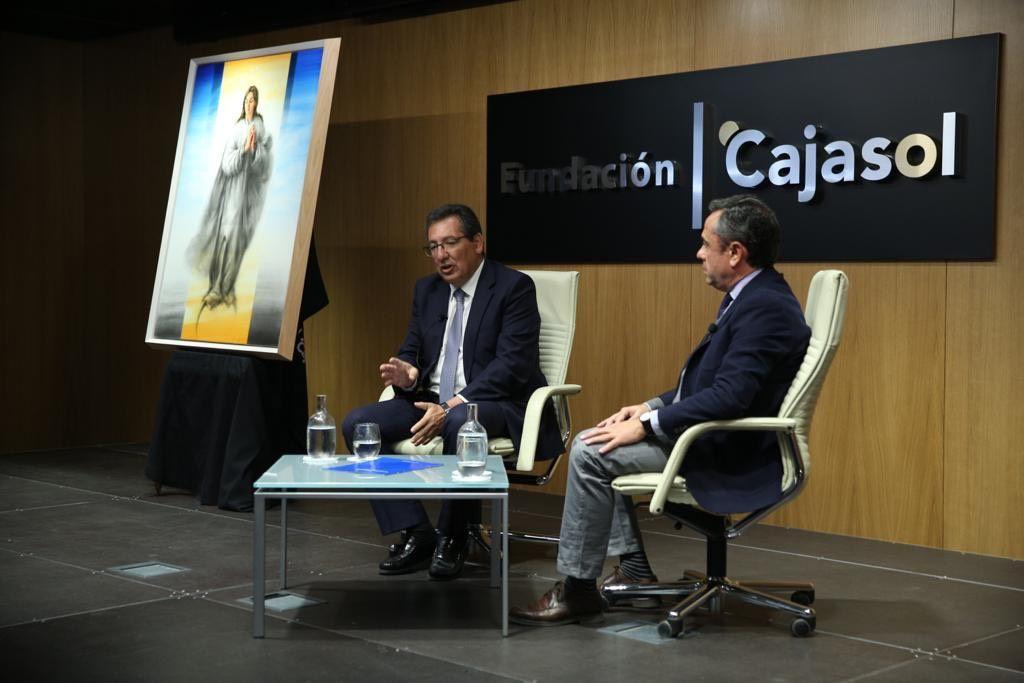 Fundacion Cajasol presenta cuadro de Inmaculada