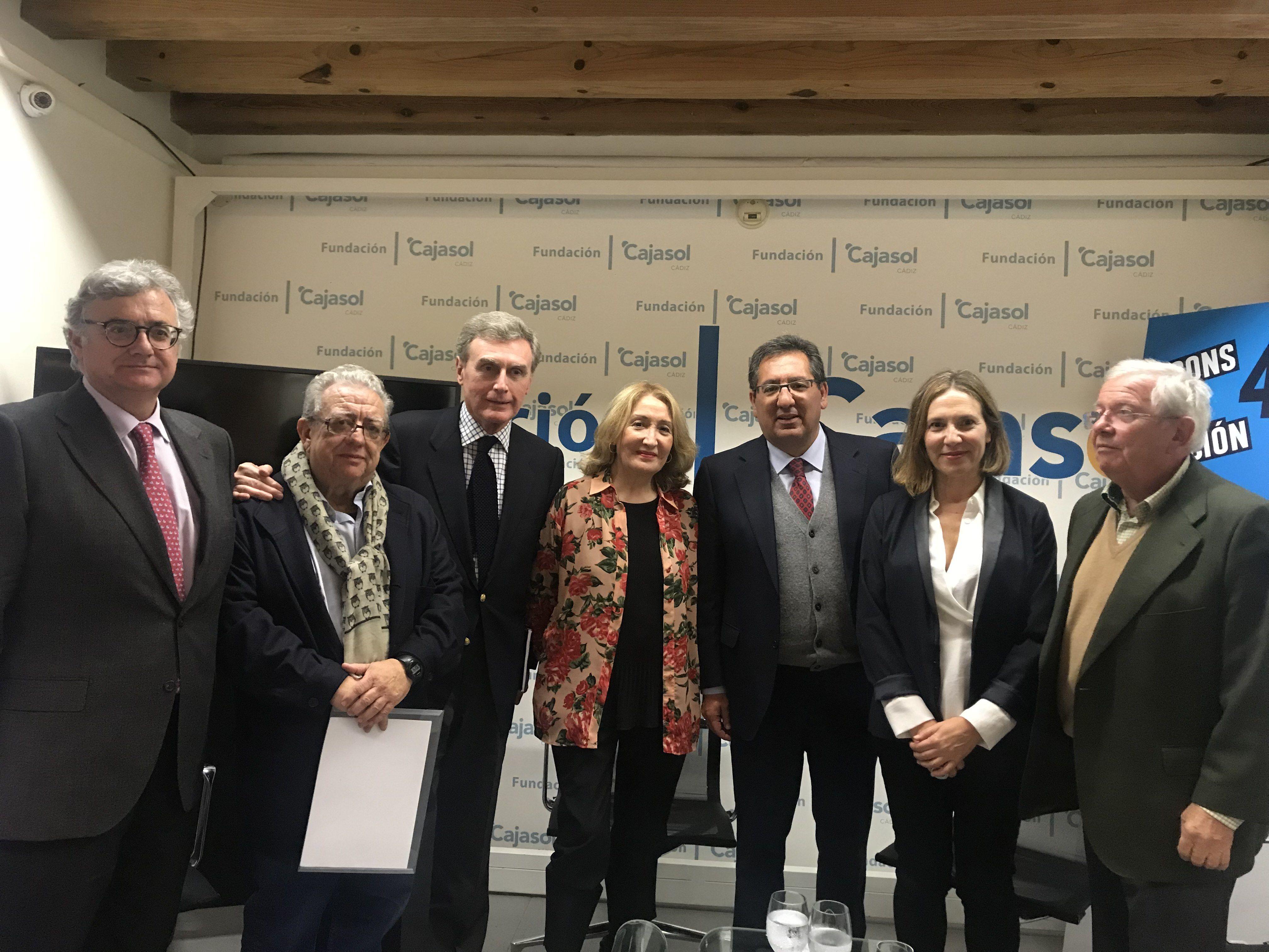 Cajasol Cádiz con la memoria de la Constitución