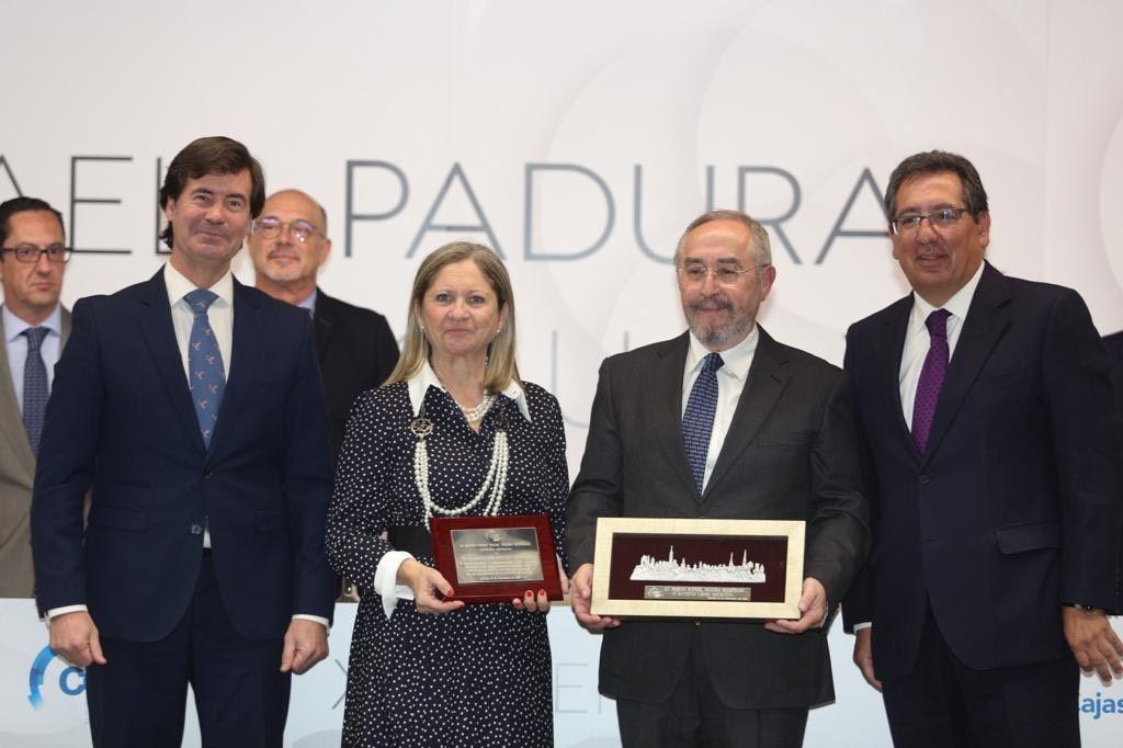 Premiados Rafael Padura en Fundacion Cajasol
