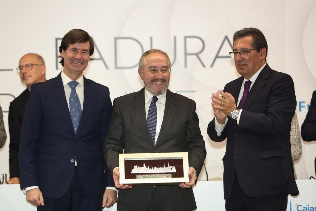Premio Rafael Padura en Fundacion Cajasol