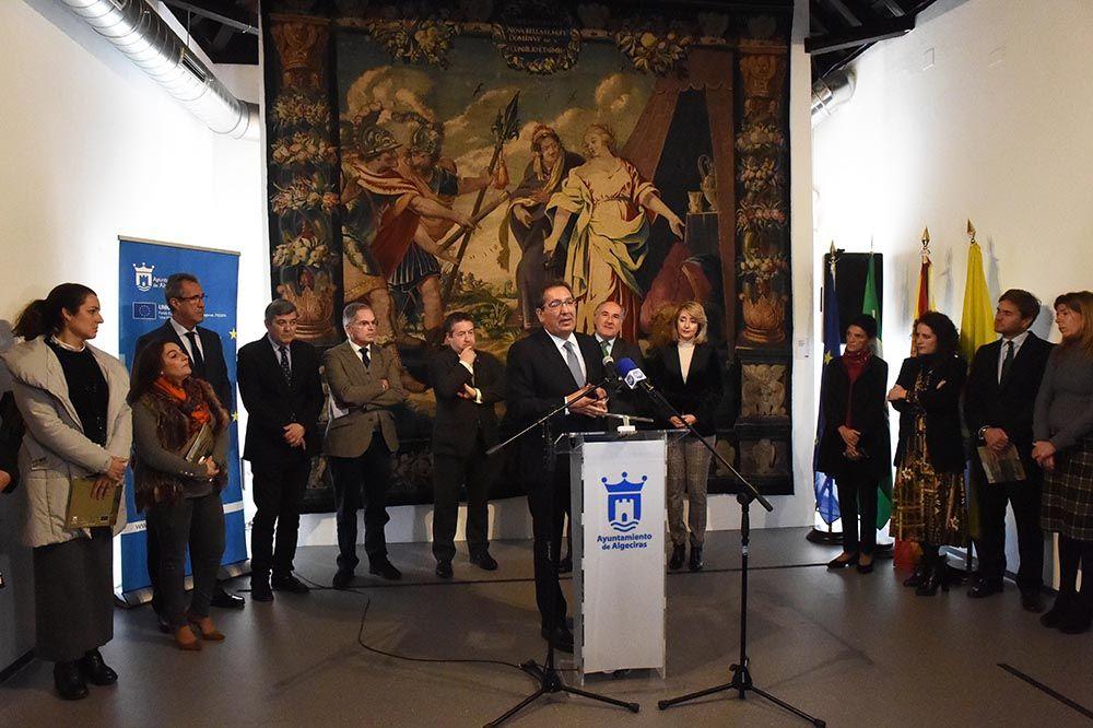 Antonio Pulido Gutierrez presenta exposicion sobre el Barroco en Algeciras