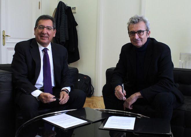 Antonio Pulido y Mariano Barroso
