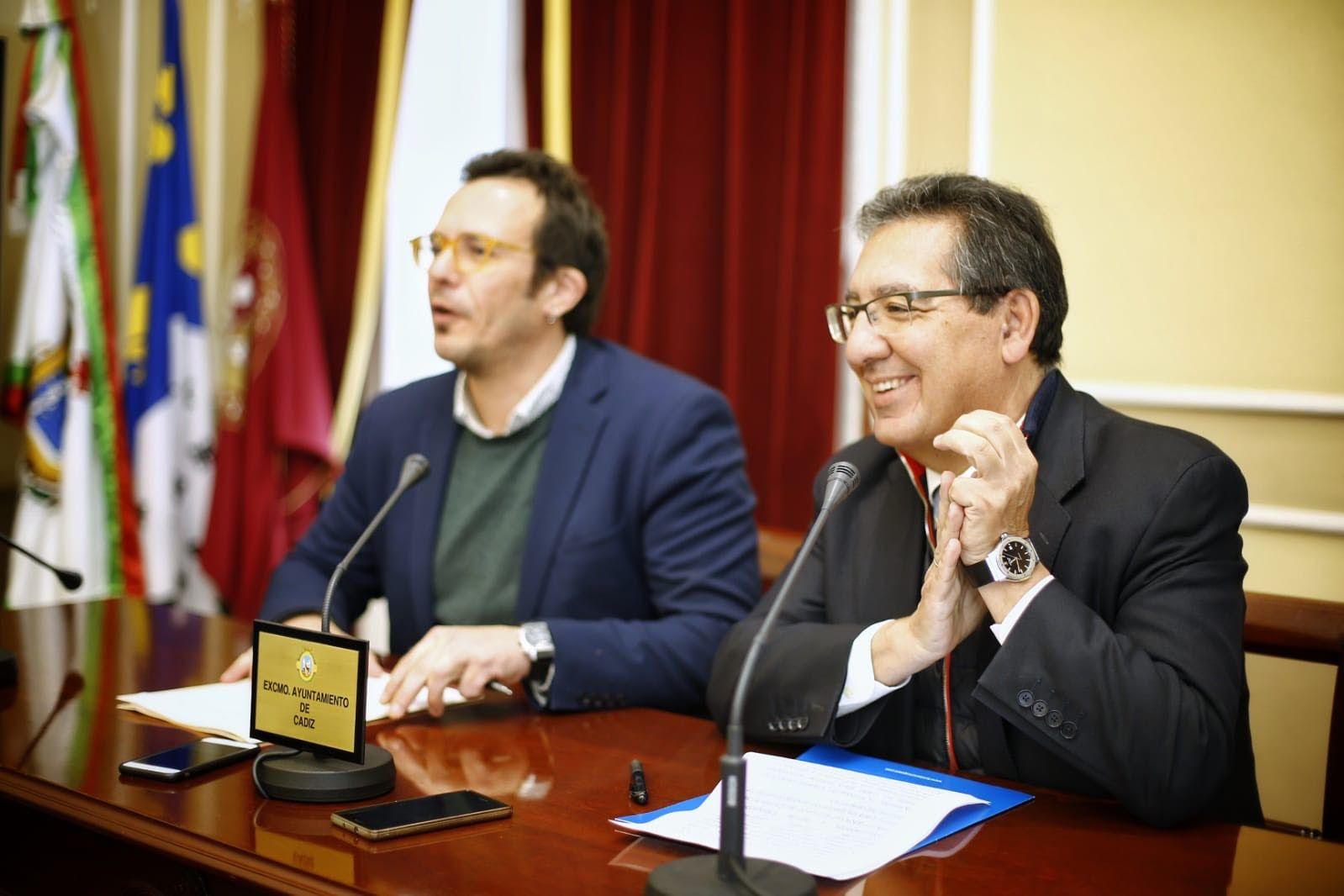 Alcalde de Cadiz y Presidente de la Fundacion Cajasol