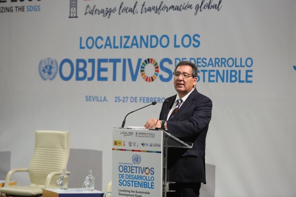 Antonio Pulido Cumbre Desarrollo Sostenible