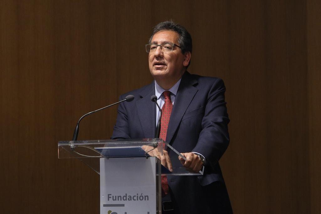 Presidente de la Fundación Cajasol, Antonio Pulido
