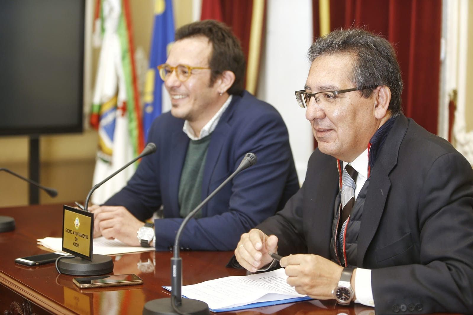 Antonio Pulido Gutierrez y Jose Maria Gonzalez Kichi