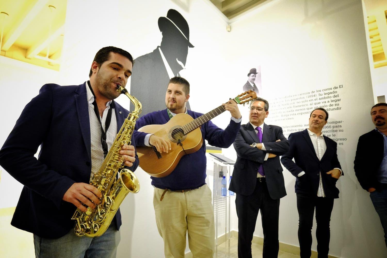 Inauguración de la exposición sobre el Tío de la Tiza