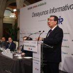 Antonio Pulido Gutiérrez en los Desayunos de Europa Press con la CEOE y ATA