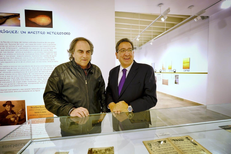 El Tío de la Tiza y Antonio Pulido Gutiérrez