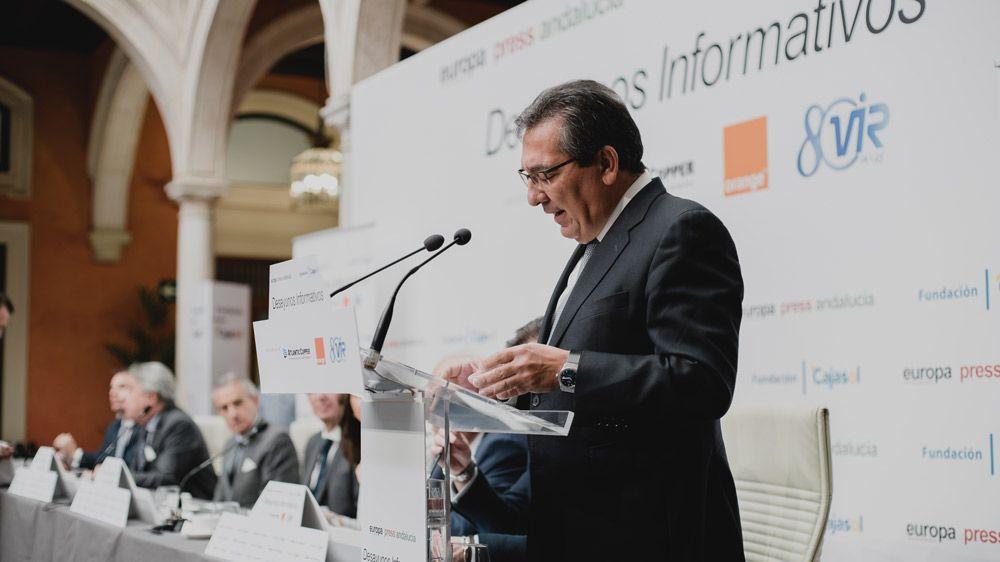 Antonio Pulido - Desayunos de Europa Press Andalucía