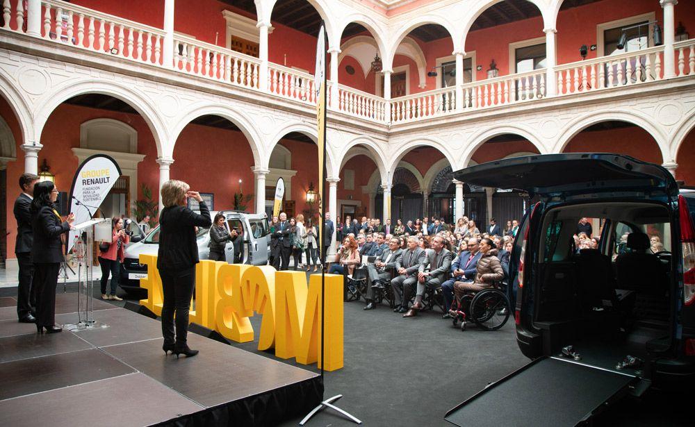 Evento de Renault en Fundación Cajasol