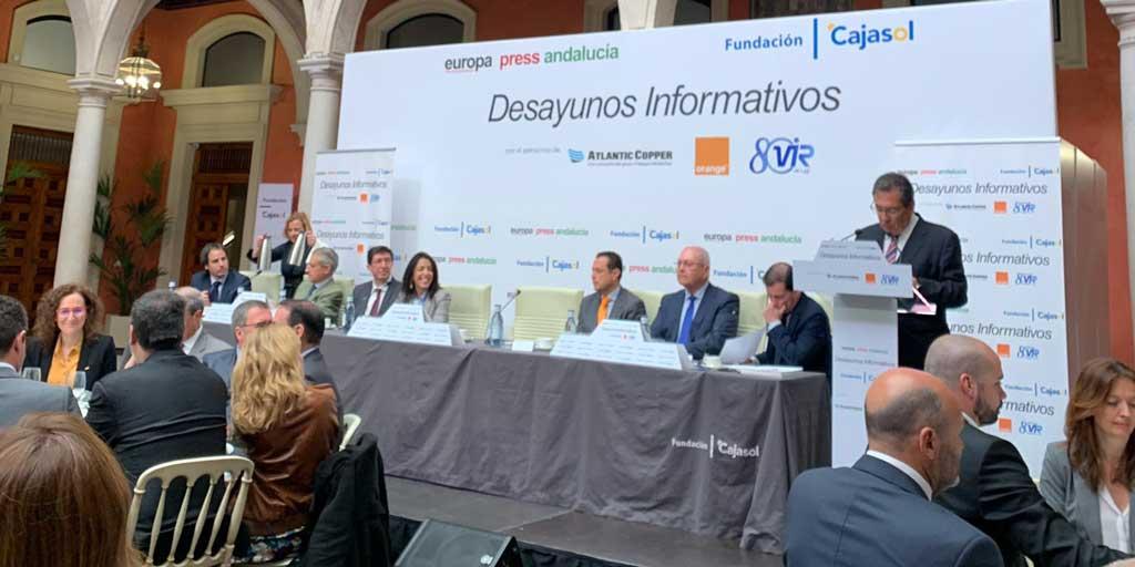 Desayuno Informativo de Europa Press en Cajasol