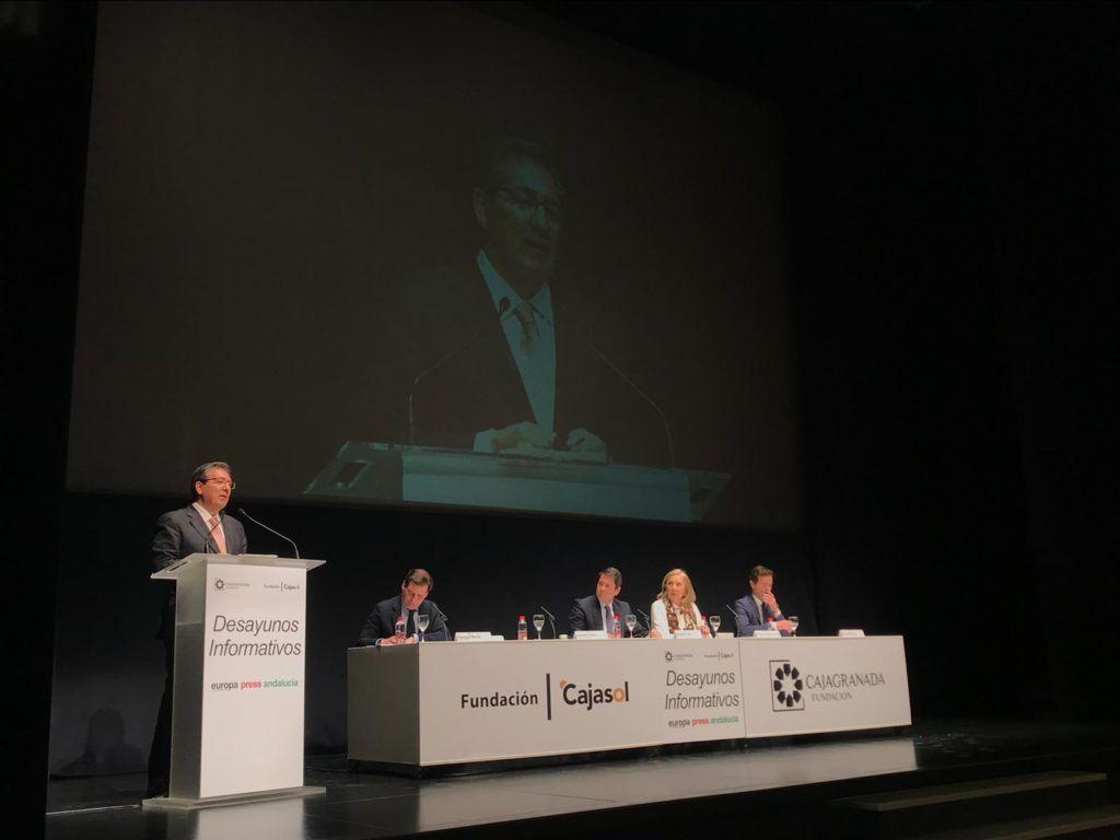 Cajasol y Europa Press organizan un nuevo Desayuno Informativo