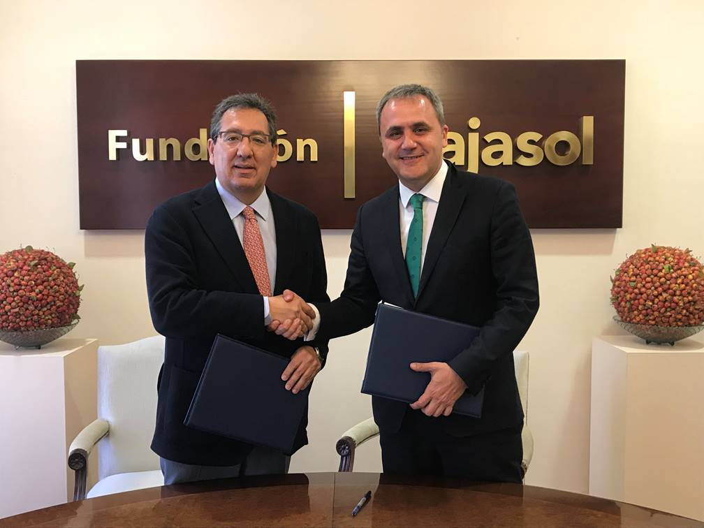 Fundación Cajasol y Fundación Aro mantienen su compromiso con las escuelas de baloncesto