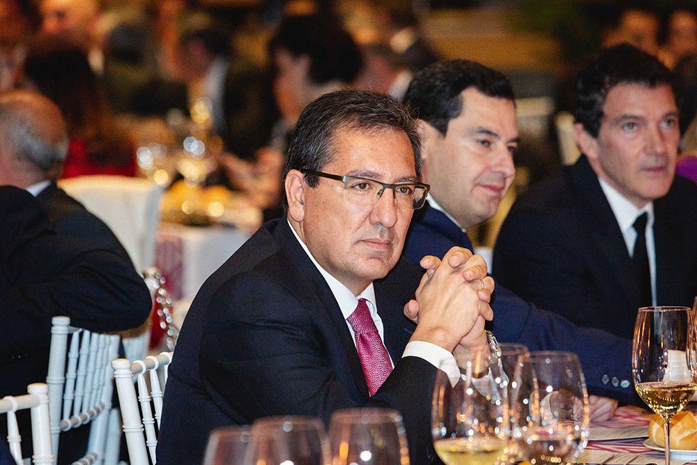 Primer plano Presidente F. Cajasol