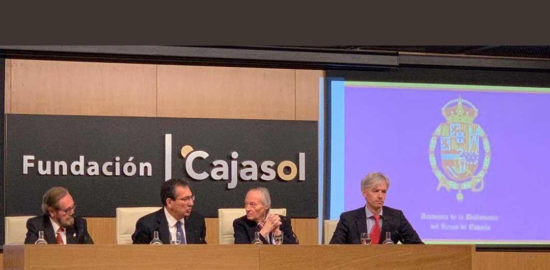 Josep Piqué en el Foro Diplomático 2019 en Fundación Cajasol