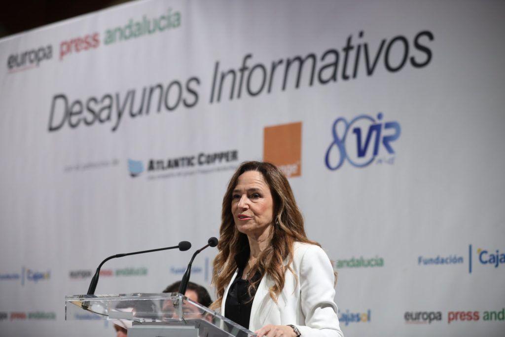 Teresa Jiménez-Becerril en Fundación Cajasol