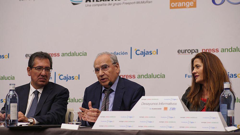 Desayuno Informativo de Europa Press con Juan Espadas en Sevilla