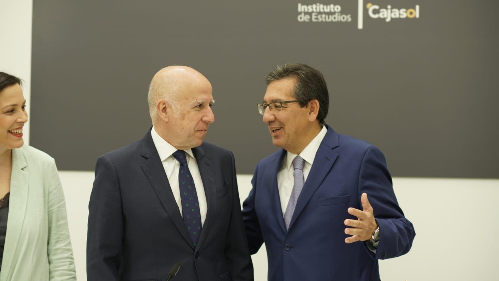 Antonio Pulido e Hilario Albarracin de KPMG