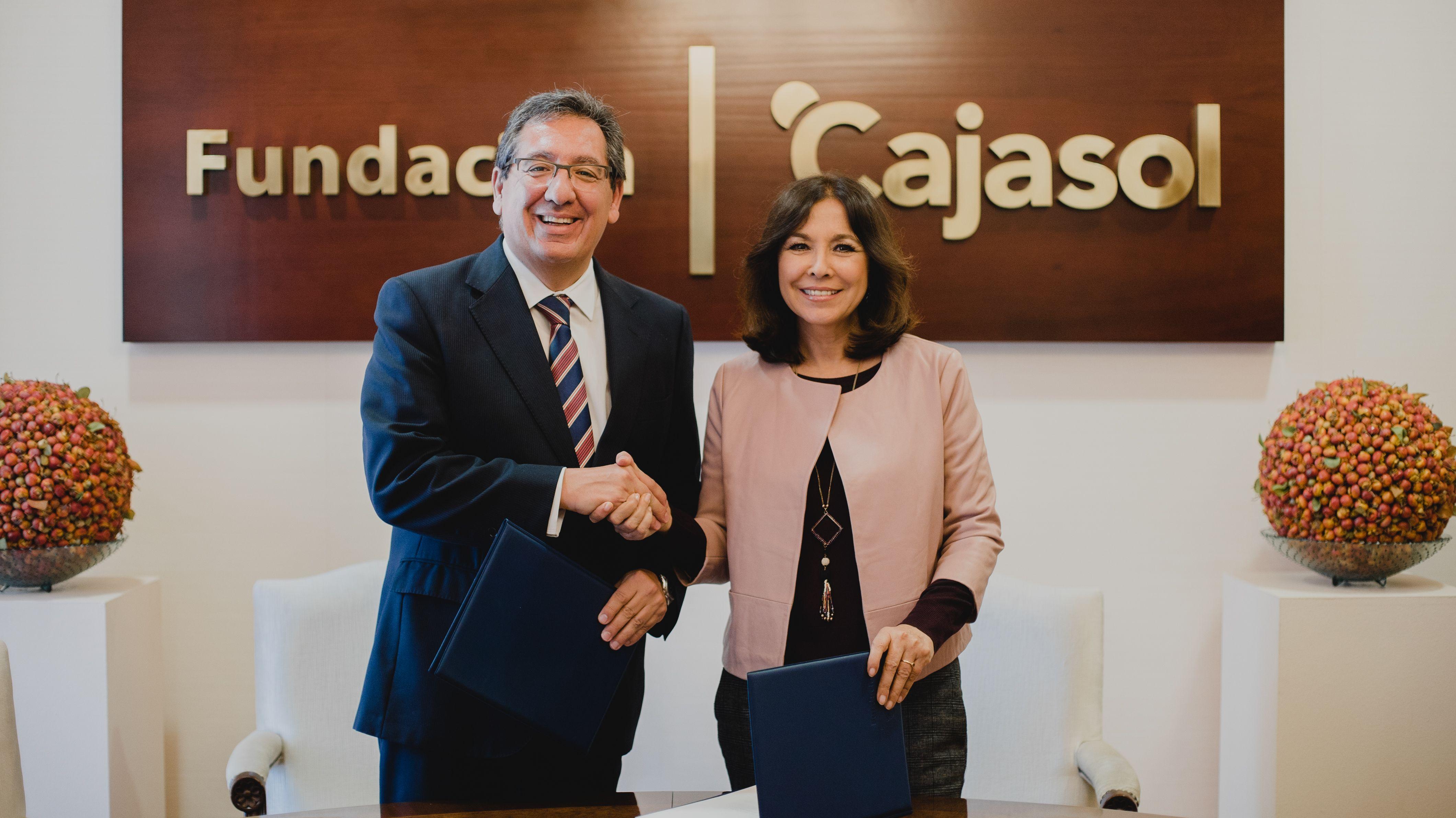 Fundación Cajasol y Fundación Isabel Gemio firman convenio de colaboración