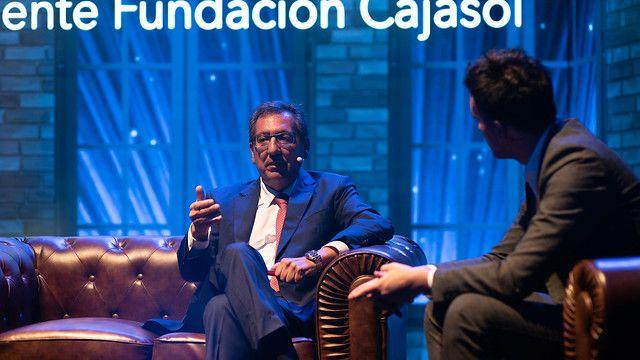 Antonio Pulido presenta el balance de Cajasol 2018
