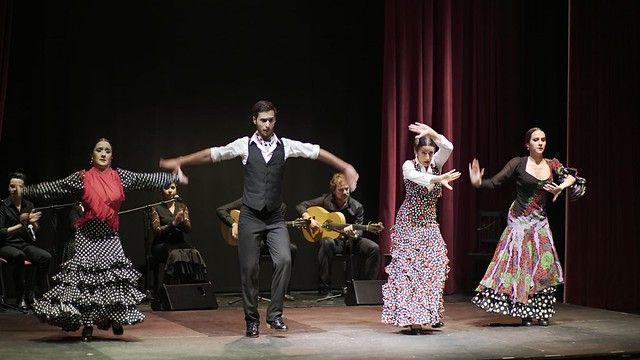 Talento de flamenco en Fundacion Cajasol