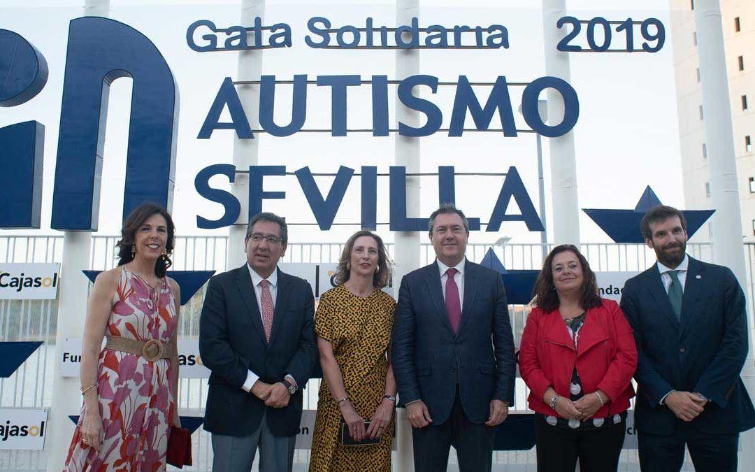 Juan Espadas, Antonio Pulido, Autismo Sevilla