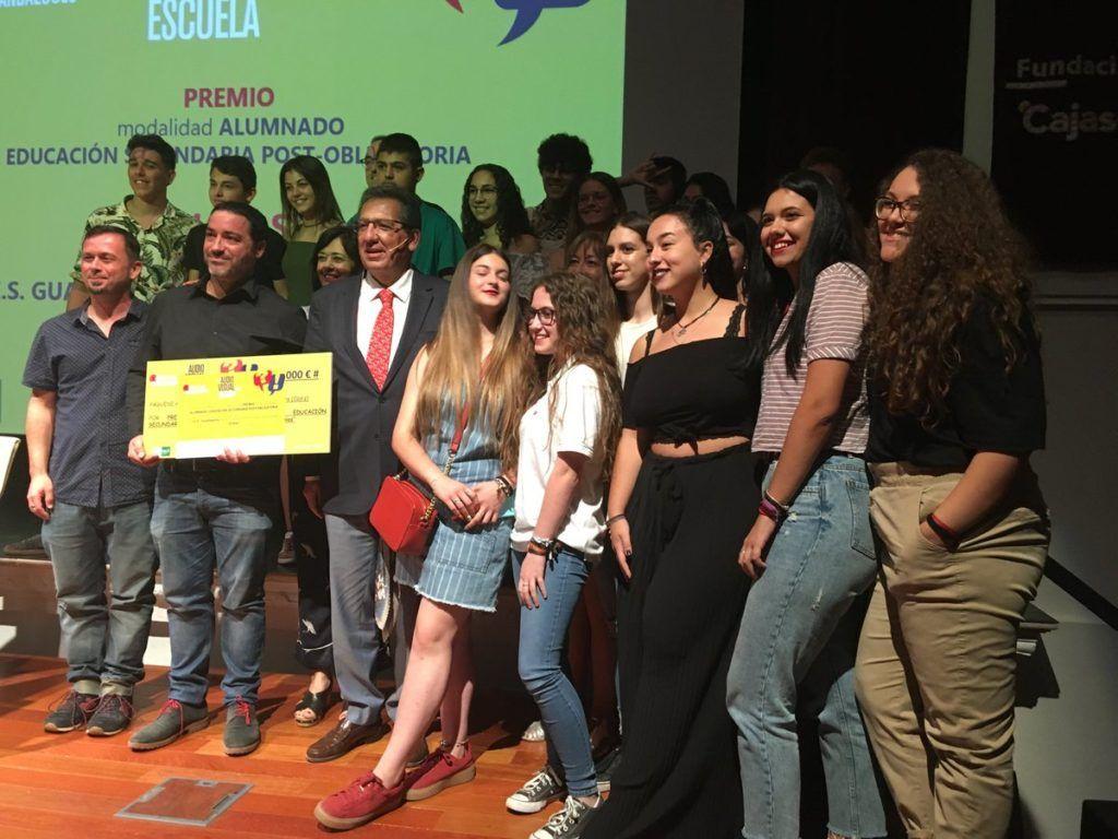 Cajasol acoge nueva edición del Audiovisual en la Escuela