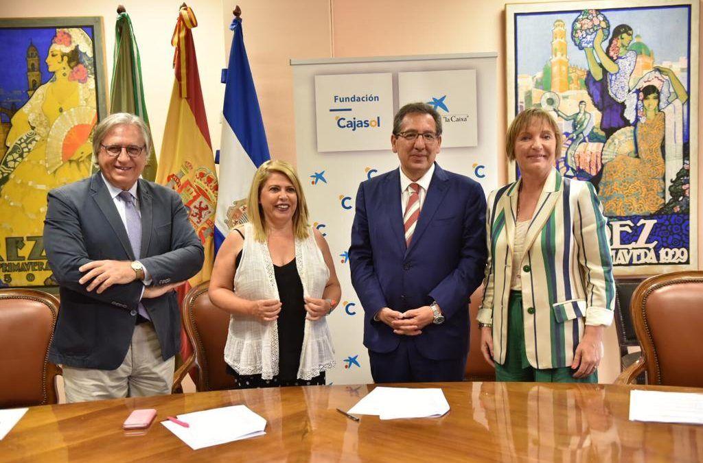 Cajasol y la Caixa impulsan el Teatro Villamarta de Jerez