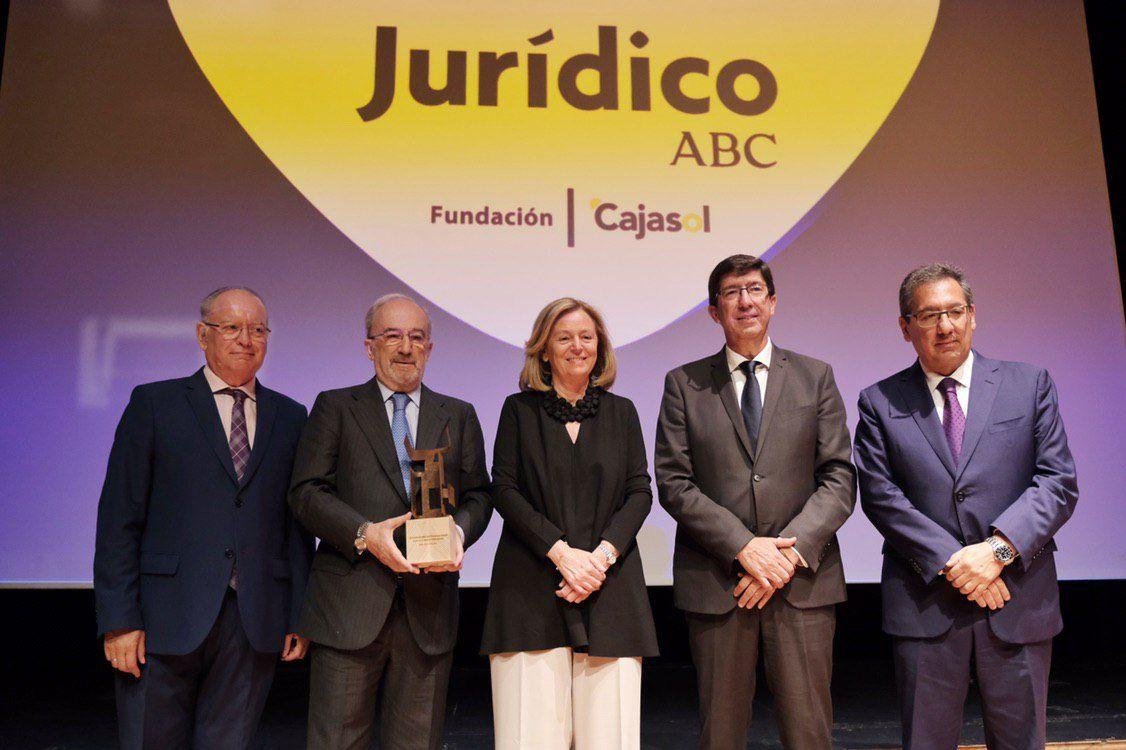 Premios Juridicos de ABC en Fundacion Cajasol