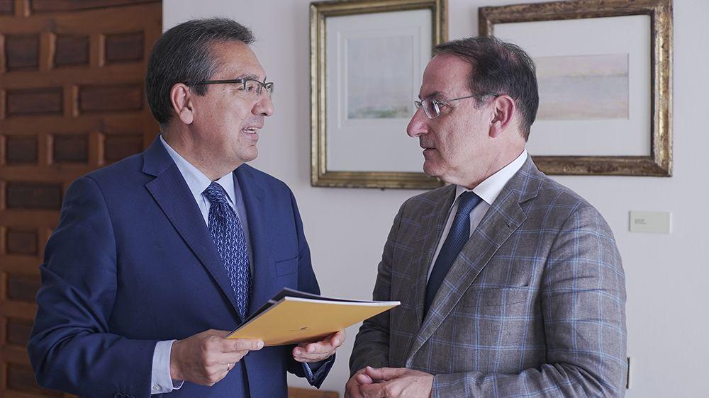 Fundación Cajasol y Empresarios de Andalucía