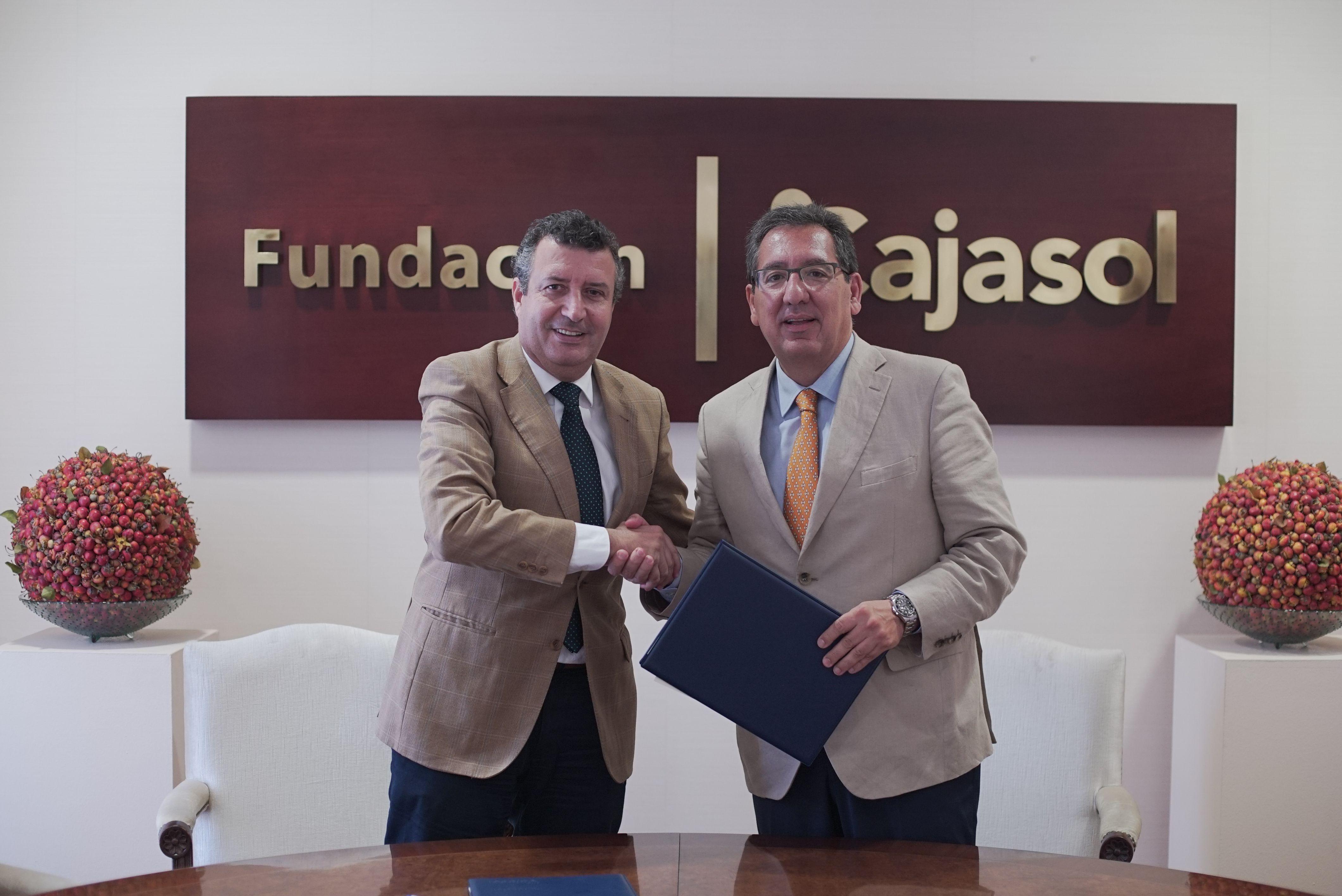 Convenio Fundación Cajasol - Ayuntamiento de La Rinconada