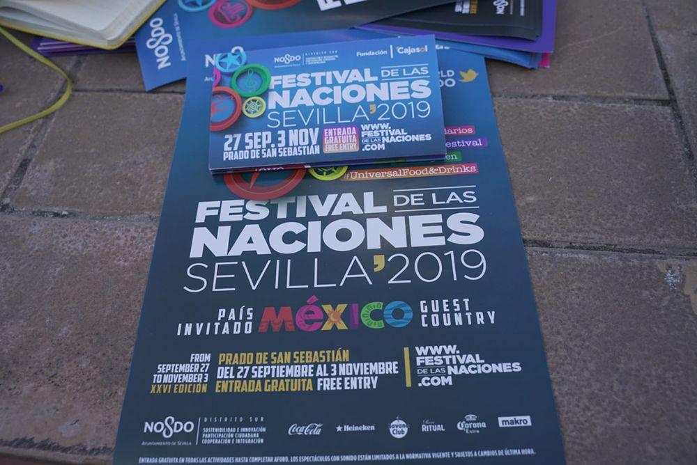 Cartel del festival de las naciones