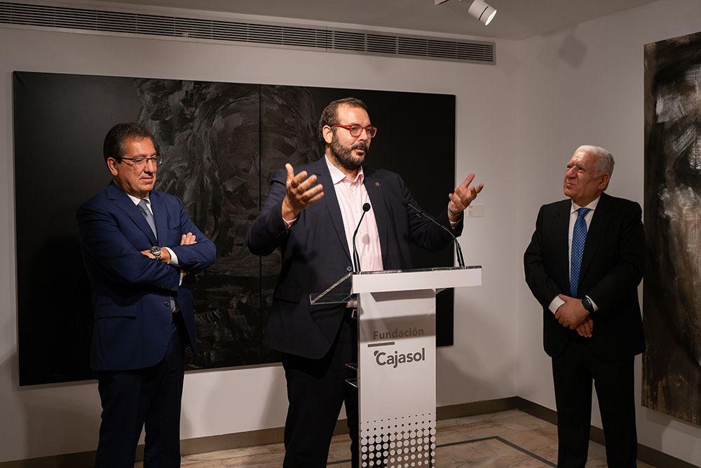 Antonio Pulido, Luis Bassat y David Bote