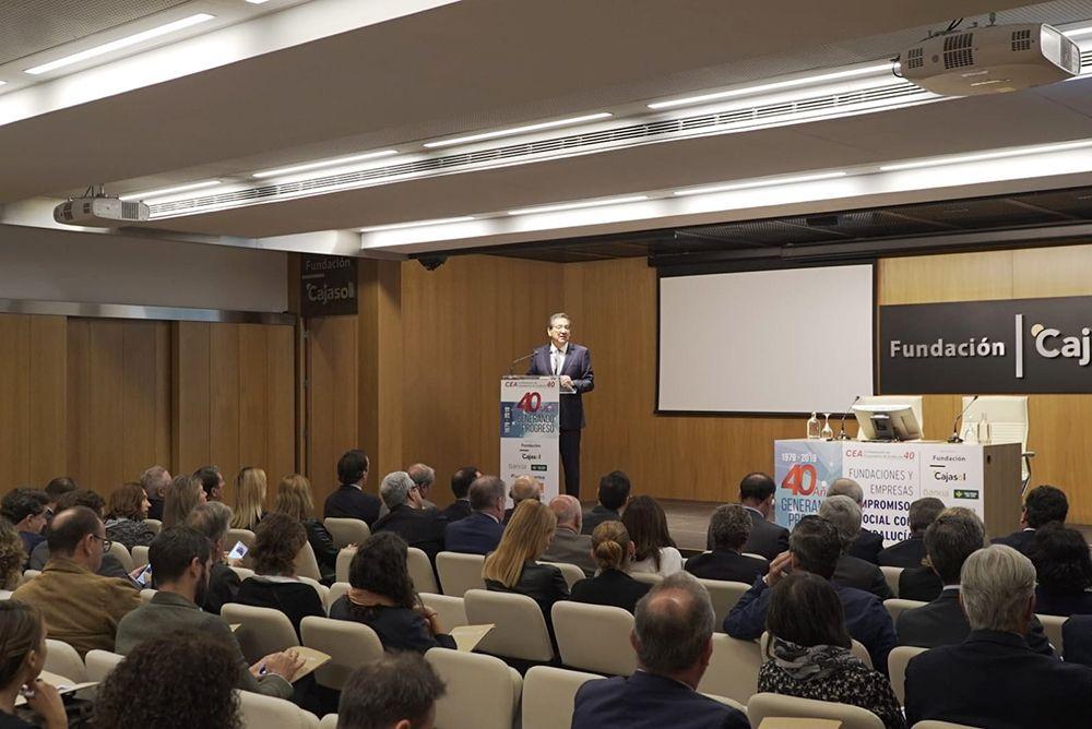 Antonio Pulido Presidente Fundacion Cajasol y AFA