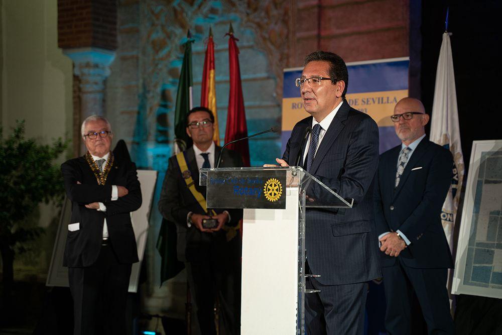 Antonio Pulido, Sevillano del Año del Rotary Club de Sevilla