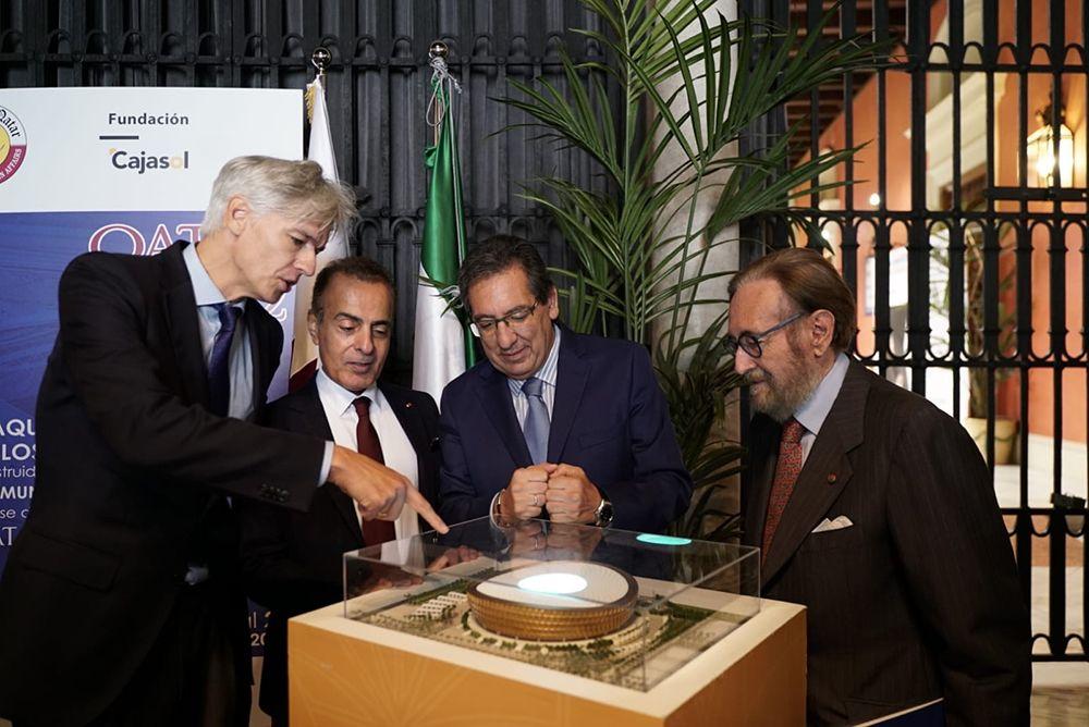 Maquetas Qatar Fundacion Cajasol