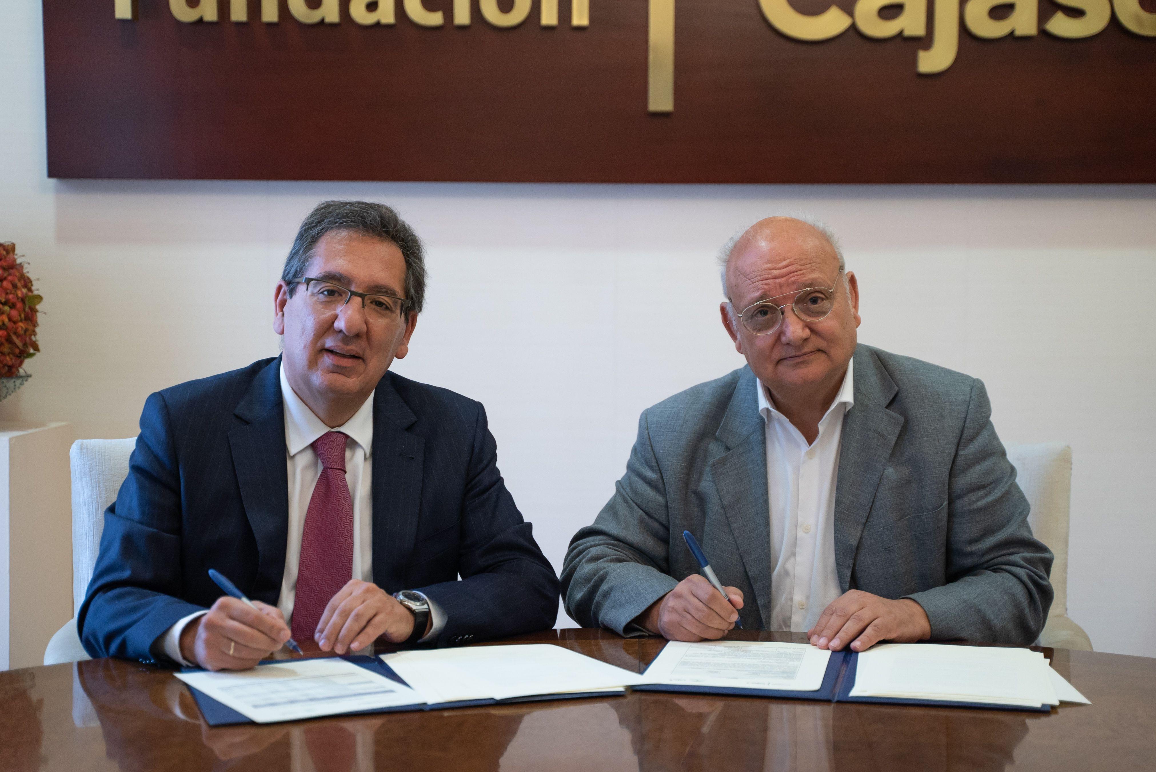 Antonio Pulido y Antonio Checa