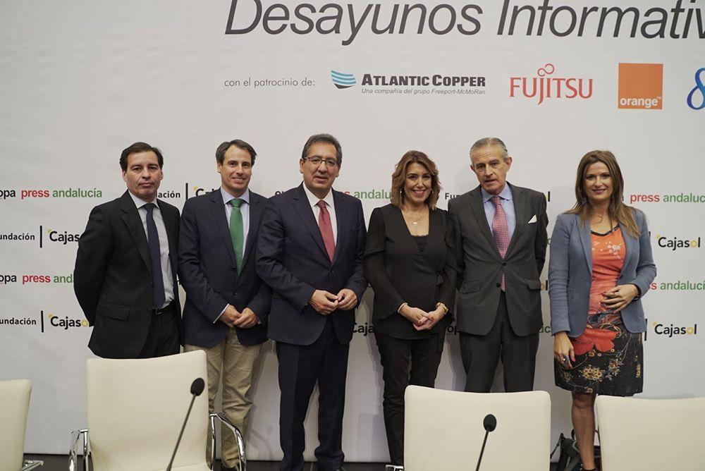 Susana Diaz Antonio Pulido Desayunos Informativos