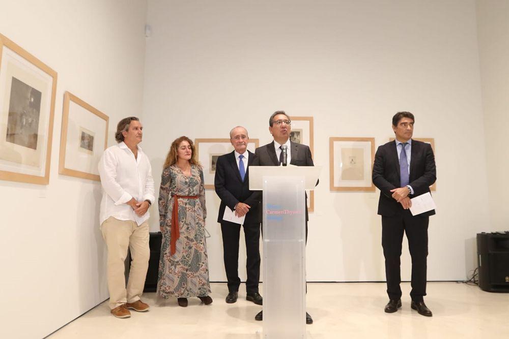 Presentación de la nueva exposición