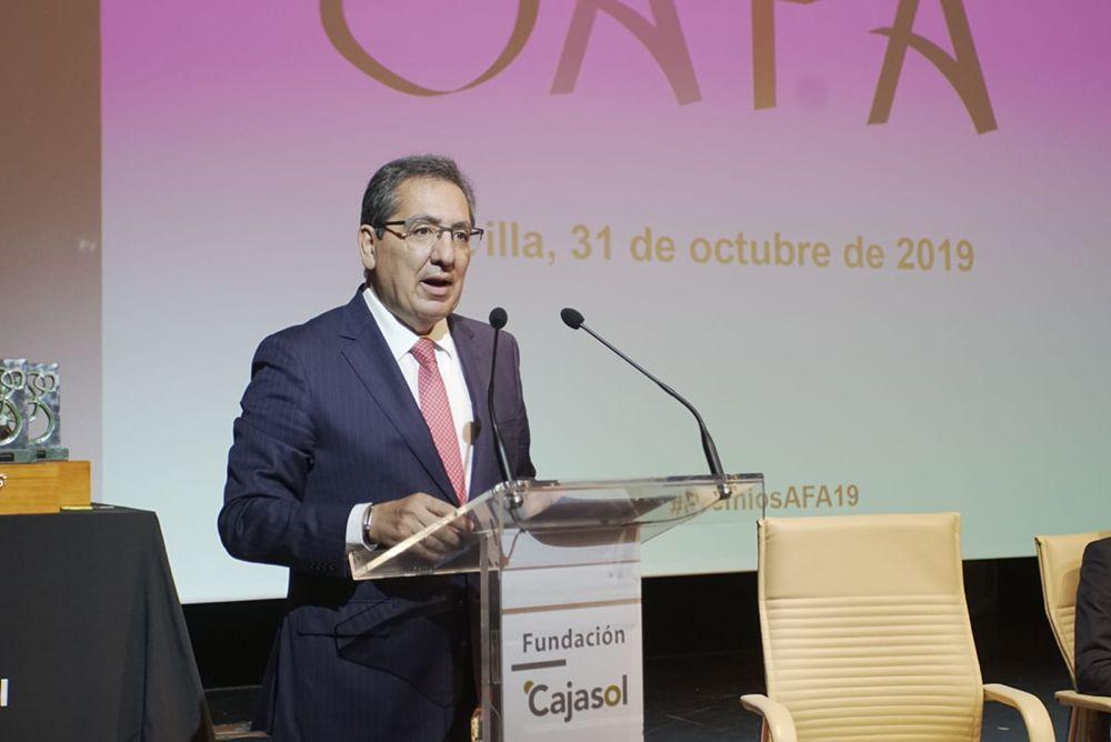 Antonio Pulido, Presidente de AFA