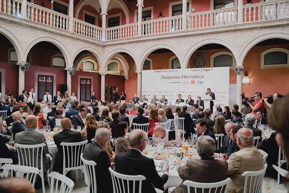 Fundación Cajasol - Desayuno Informativo