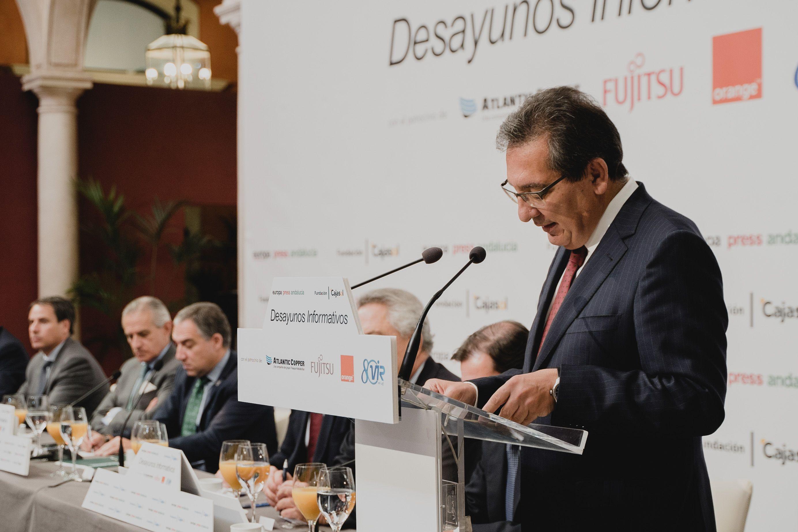 Intervención de Don Antonio Pulido Gutiérrez