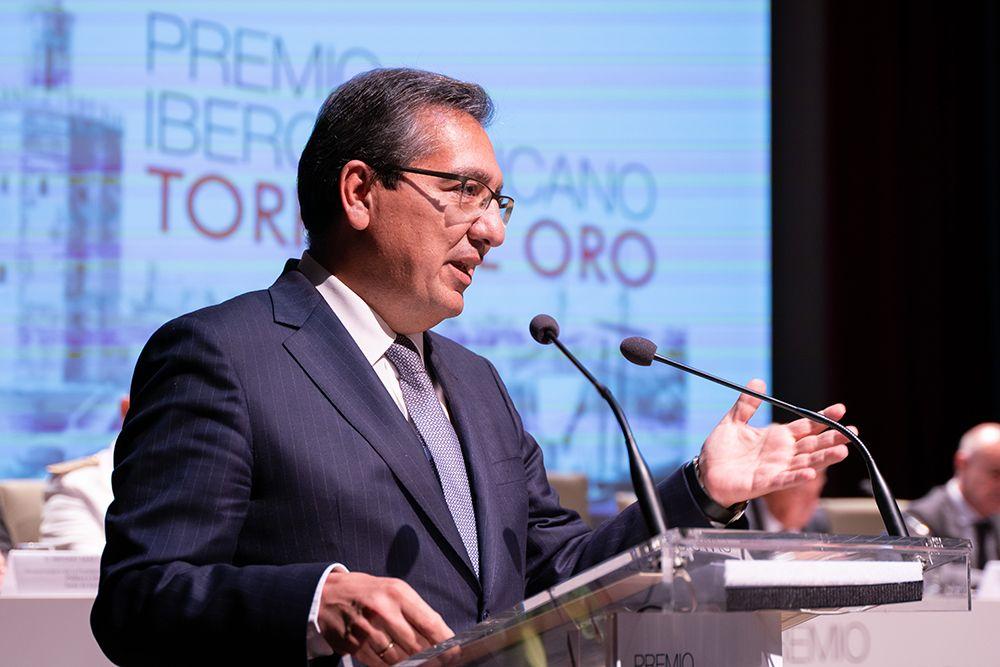 El Buque-Escuela Juan Sebastián Elcano, Premio Iberoamericano Torre del Oro 2019 en Fundación Cajasol.