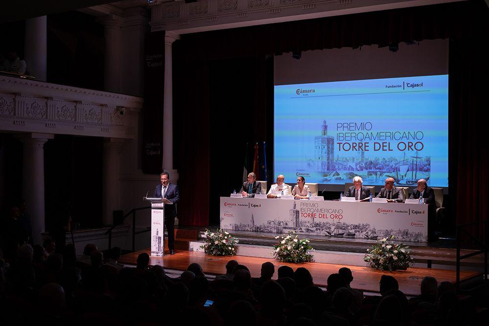 Entrega premios Cámara de Comercio de Sevilla y Cajasol