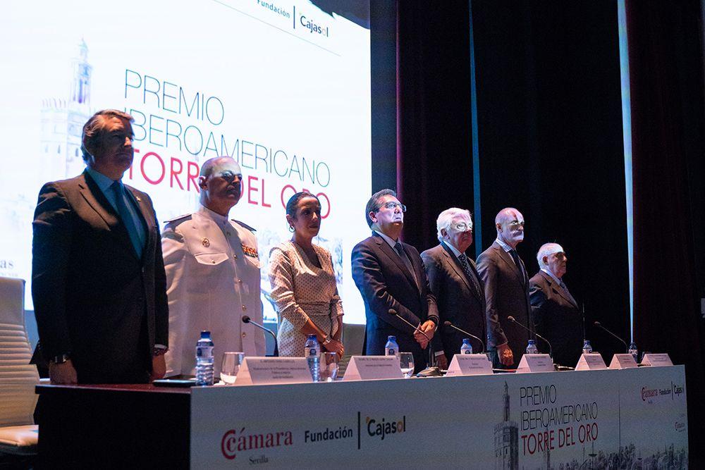 Segundo galardón Iberoamericano Torre del Oro