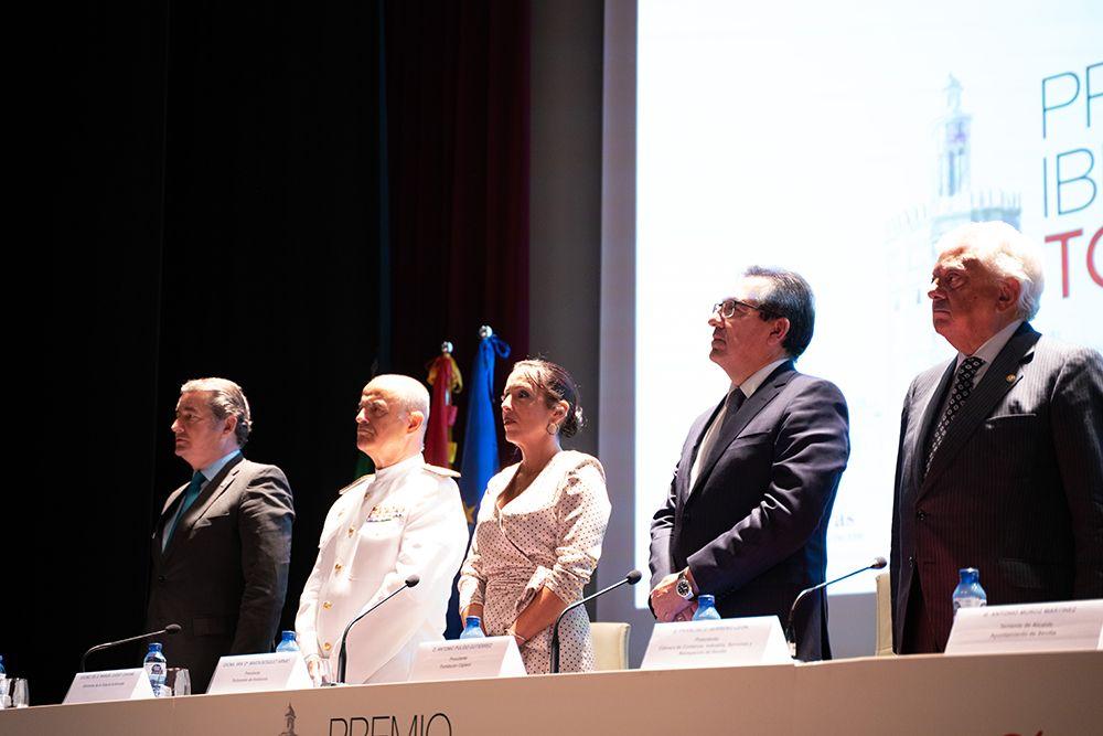 Antonio Pulido, en Premio Iberoamericano Torre del Oro