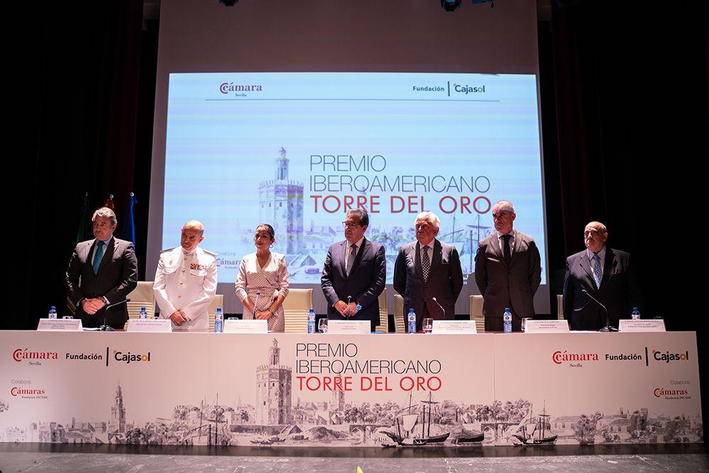 Premios Torre del Oro en Fundación Cajasol