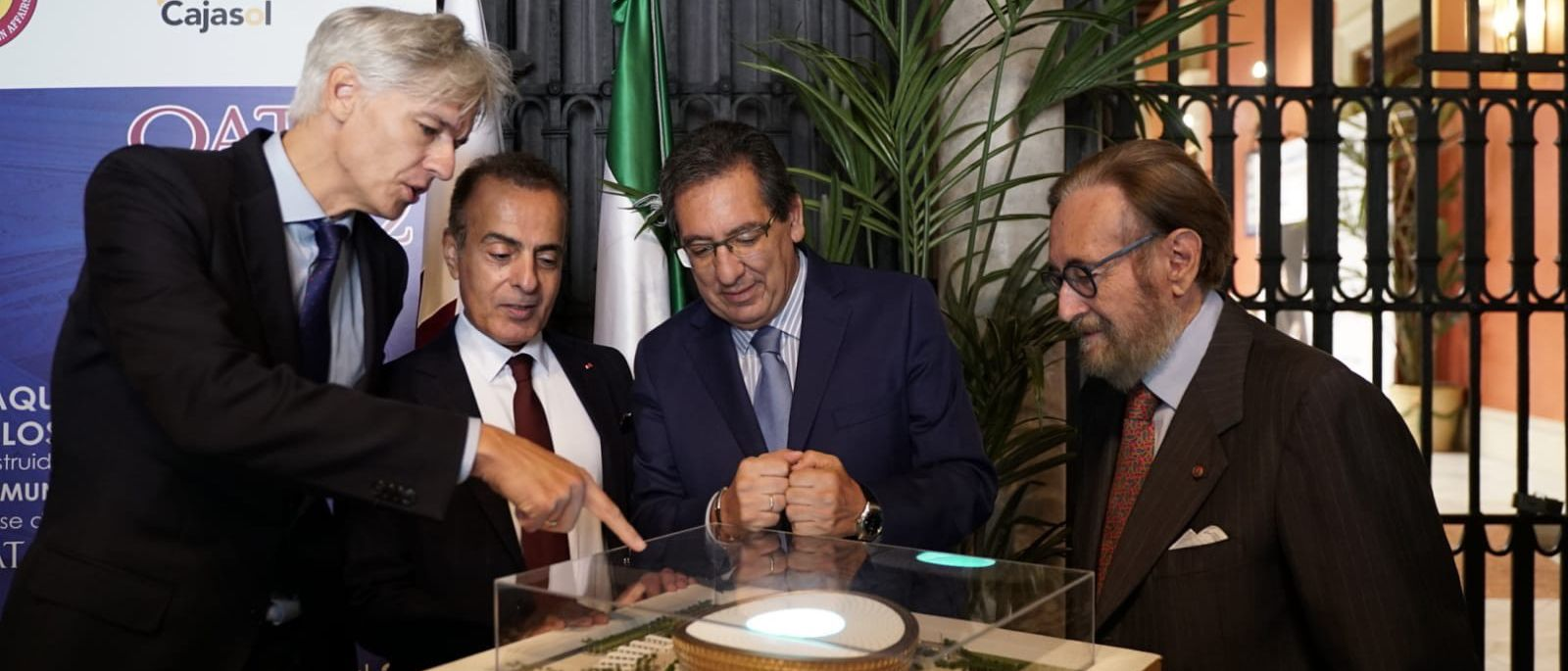 Mundial de Qatar en Fundación Cajasol