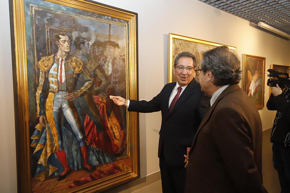 Visita institucional a Fundación Cajasol Córdoba